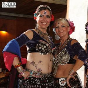 A workshop tánctanárai, Ildikó és Lilla